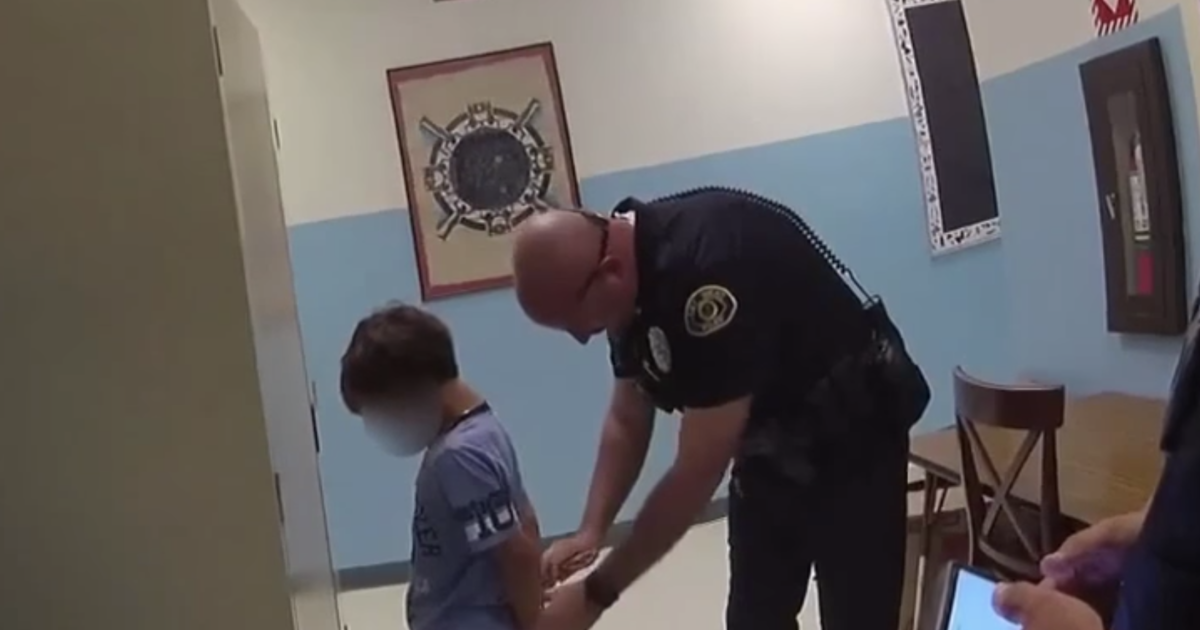 Video shows officers arrest and try to handcuff 8-year-old