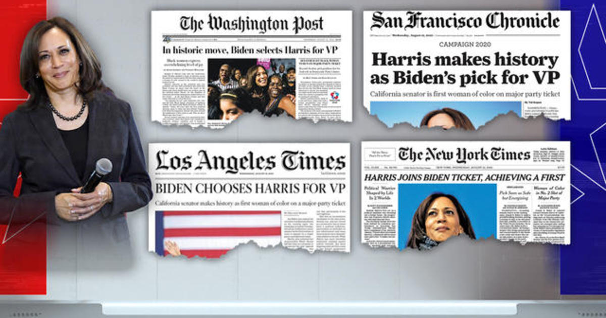 How Kamala Harris Became Joe Biden S Running Mate Cbs News
