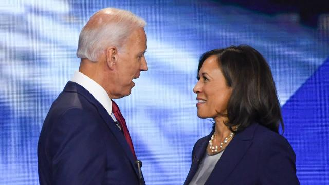 Sens. Kamala Harris And Cory Booker Join Candidate Joe Biden At Michigan Campaign Rally On Eve Of Primary