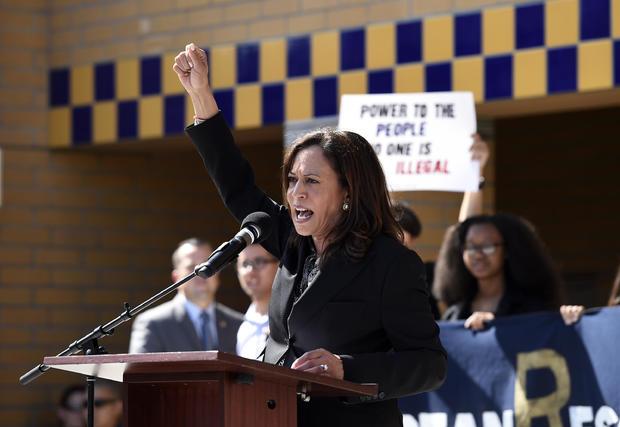 Sen. Kamala Harris (D-CA) Attends Dream Act Rally In Irvine, California