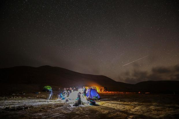 ISRAEL-SPACE-ASTRONOMY-METEOR-PERSEID
