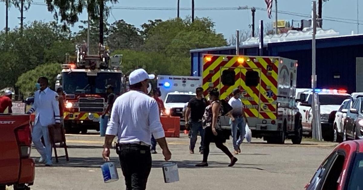 Multiple people injured when suspect opens fire at San Antonio flea market – CBS News