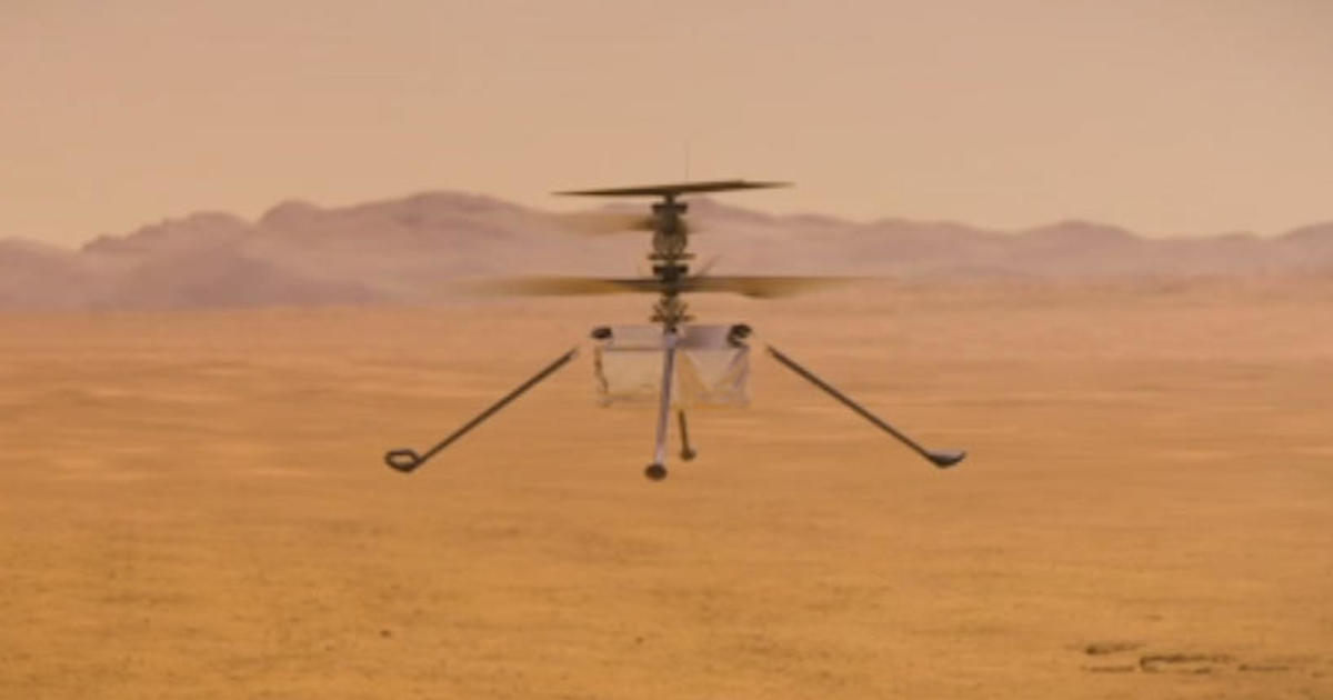 """Mars helicopter reaches """"big milestone"""" on flight to planet – CBS News"""