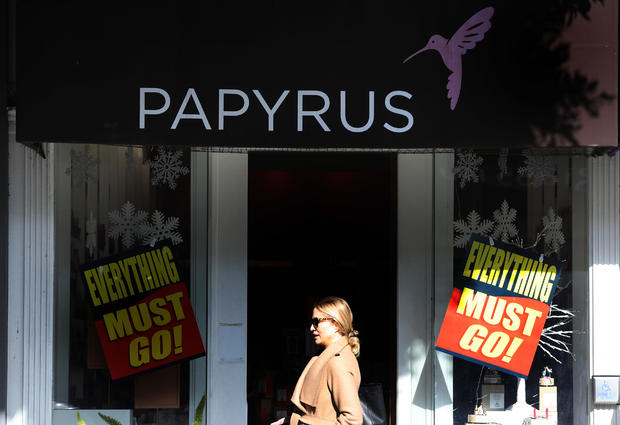 Stationery Retailer Papyrus Closing All Stores