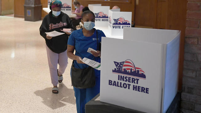 Missourians Vote In 2020 Primary Election