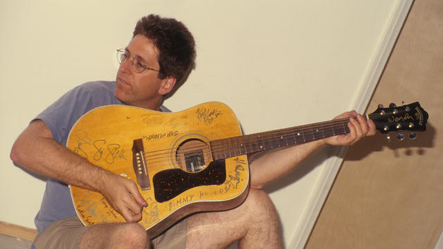 Guitarist Jack Sherman Poses For A Portrait
