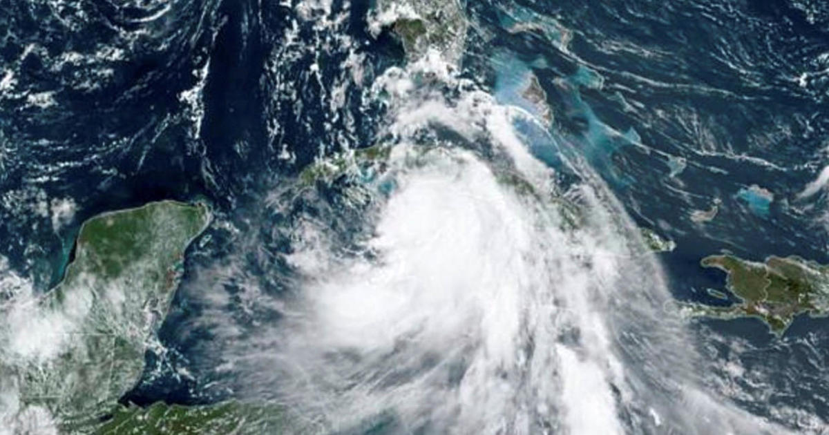 Tropical Storm Laura batters the Caribbean and the U.S. Gulf Coast could be next – CBS News