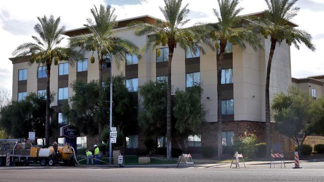 Virus Outbreak Migrant Children Hotels