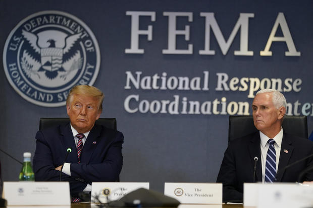 Donald Trump — Hurricane Laura