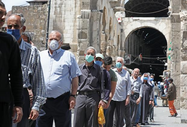 SYRIA-HEALTH-VIRUS-RAMADAN-FRIDAY PRAYER