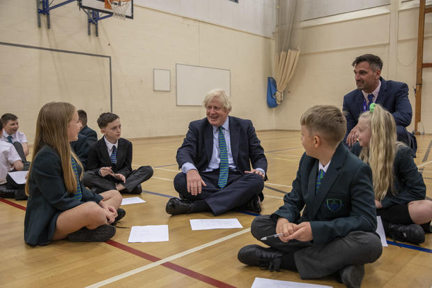 PM Visits A School in the East Midlands