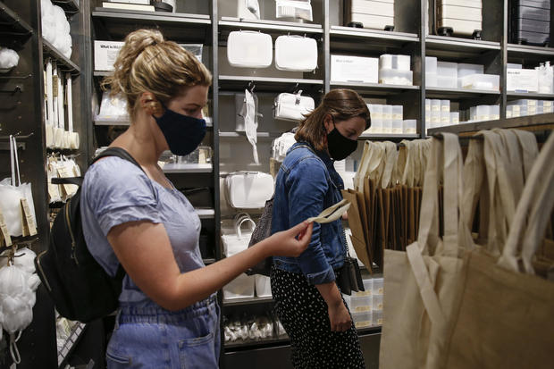 Mandatory Face Masks In Shops Considered By British Government