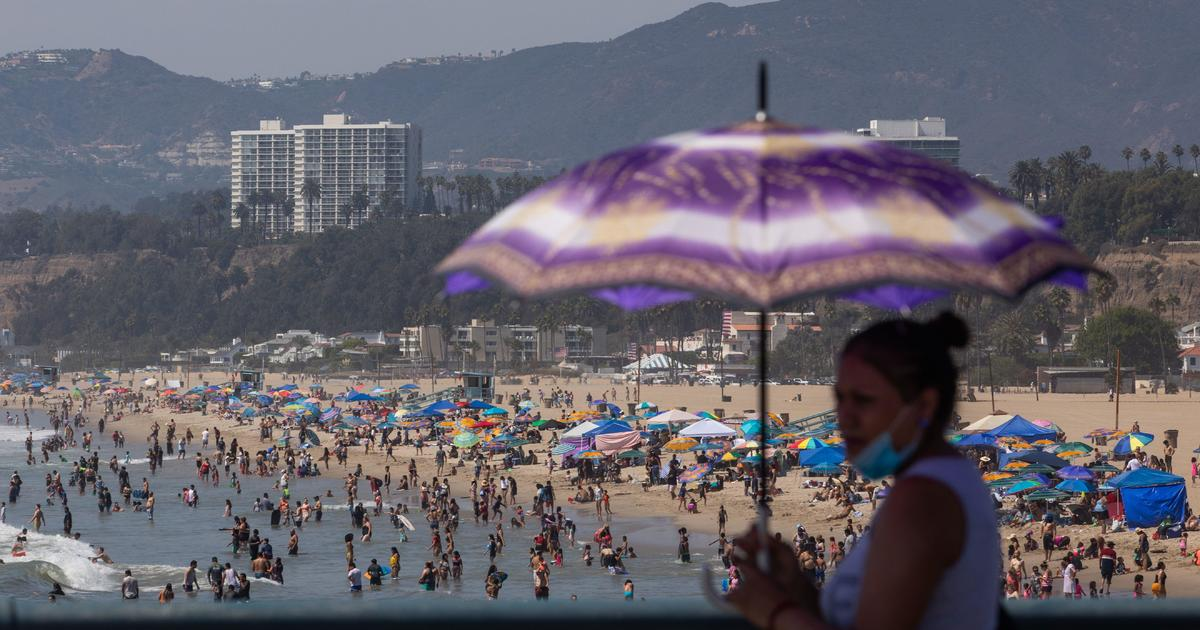 Los Angeles County sets record temperature as scorching heat wave wallops Southern California