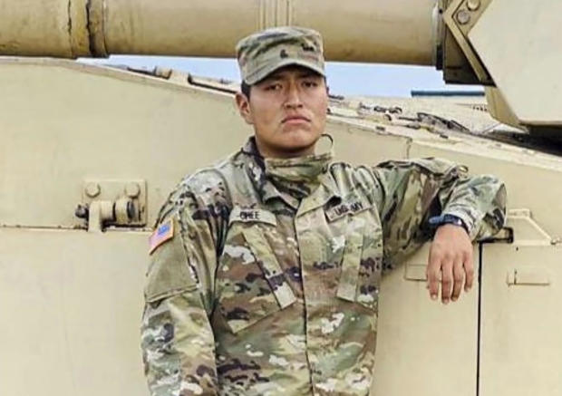 Soldier Death-Texas Training