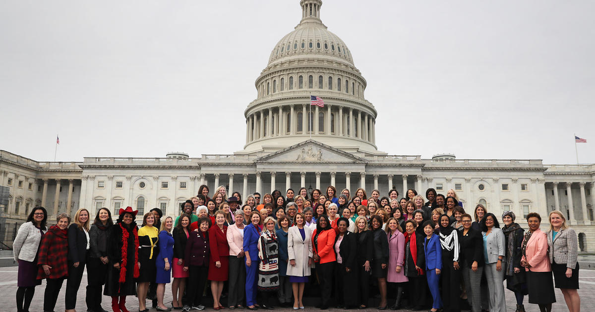 """More women than ever are running for Congress. One expert calls them """"the heart of the resistance."""""""