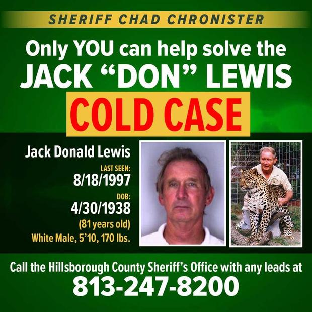 Don Lewis cold case poster