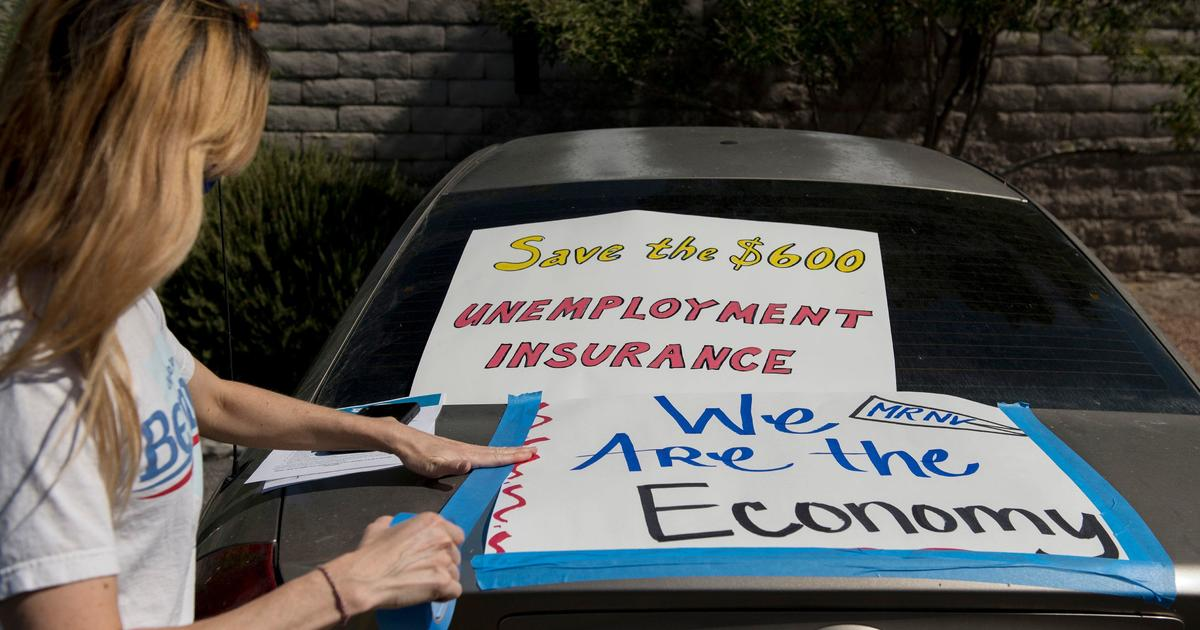Number of Americans seeking unemployment aid is rising