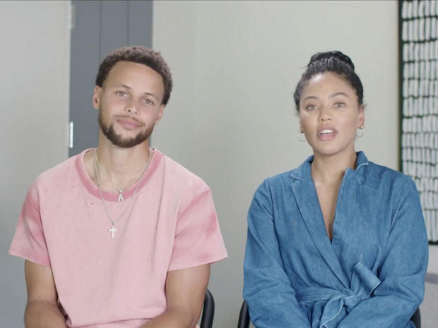 Stephen and Ayesha Curry appear virtually at the 2020 DNC