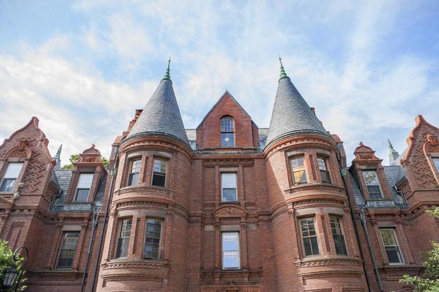 Schneider and Billings Hall, Wellesley College, Wellesley, Massachusetts, USA