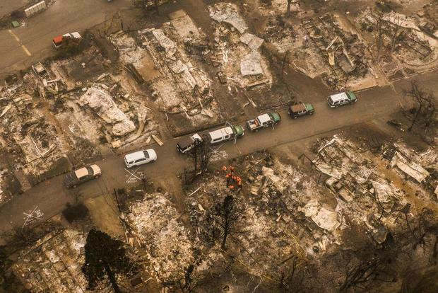 Ashland Oregon fire