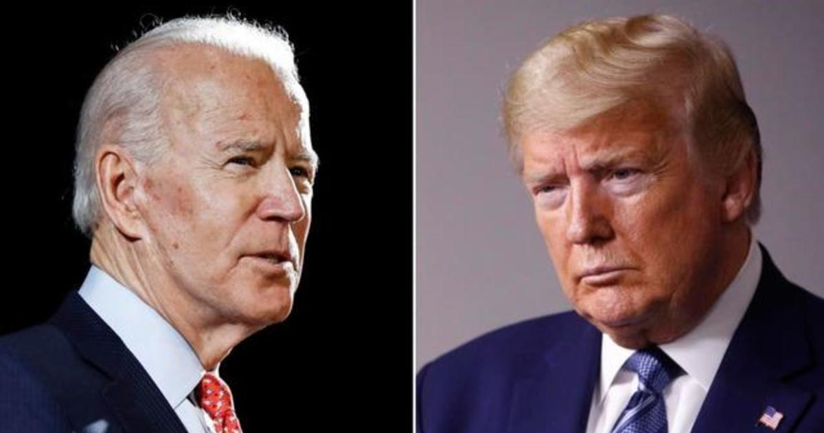 When Are The 2020 Presidential Debates What Topics Will Trump And Biden Cover Cbs News