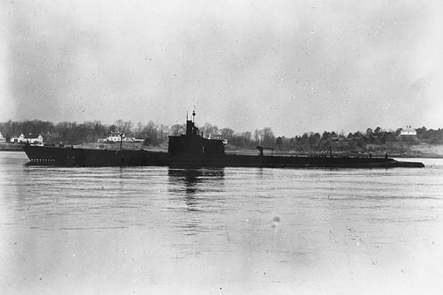 Thailand Submarine Wreck
