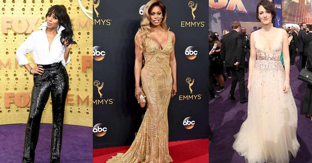 Emmys red carpet: The best-dressed stars ever