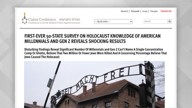 cbsn-fusion-survey-finds-two-thirds-of-young-americans-lack-basic-holocaust-knowledge-thumbnail-549386-640x360.jpg