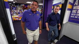 Ed Orgeron's journey from the bayou to LSU