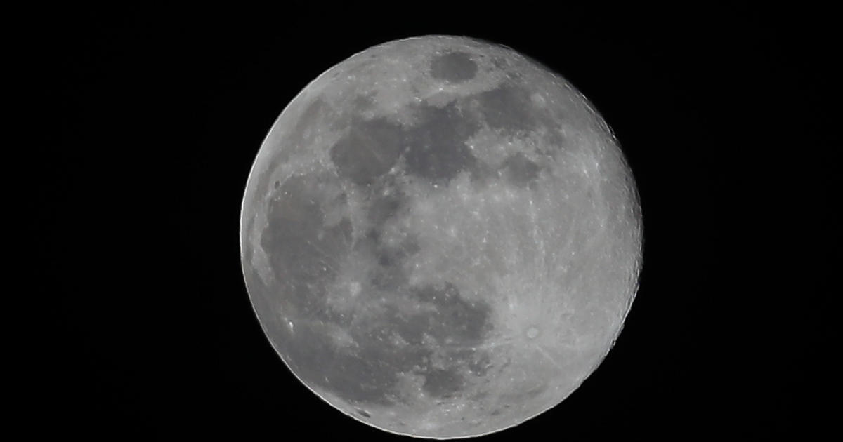 "A rare ""blue moon"" will light up the Halloween night sky – CBS News"