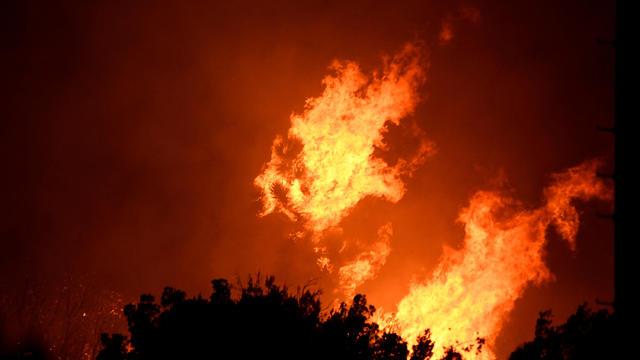Silverado Fire — Southern California