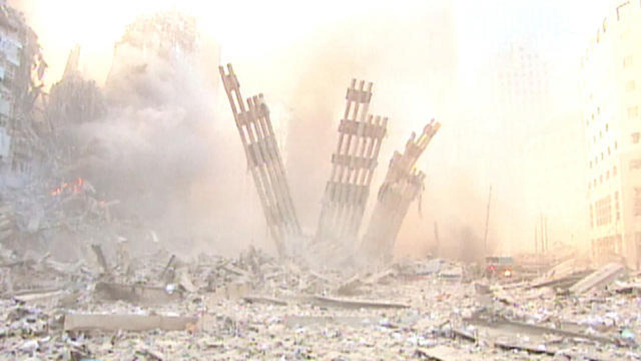 world trade center crash video