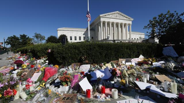 SCOTUS Justice Ruth Bader Ginsburg