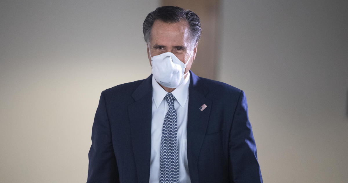 Romney backs vote on Trump's Supreme Court nominee