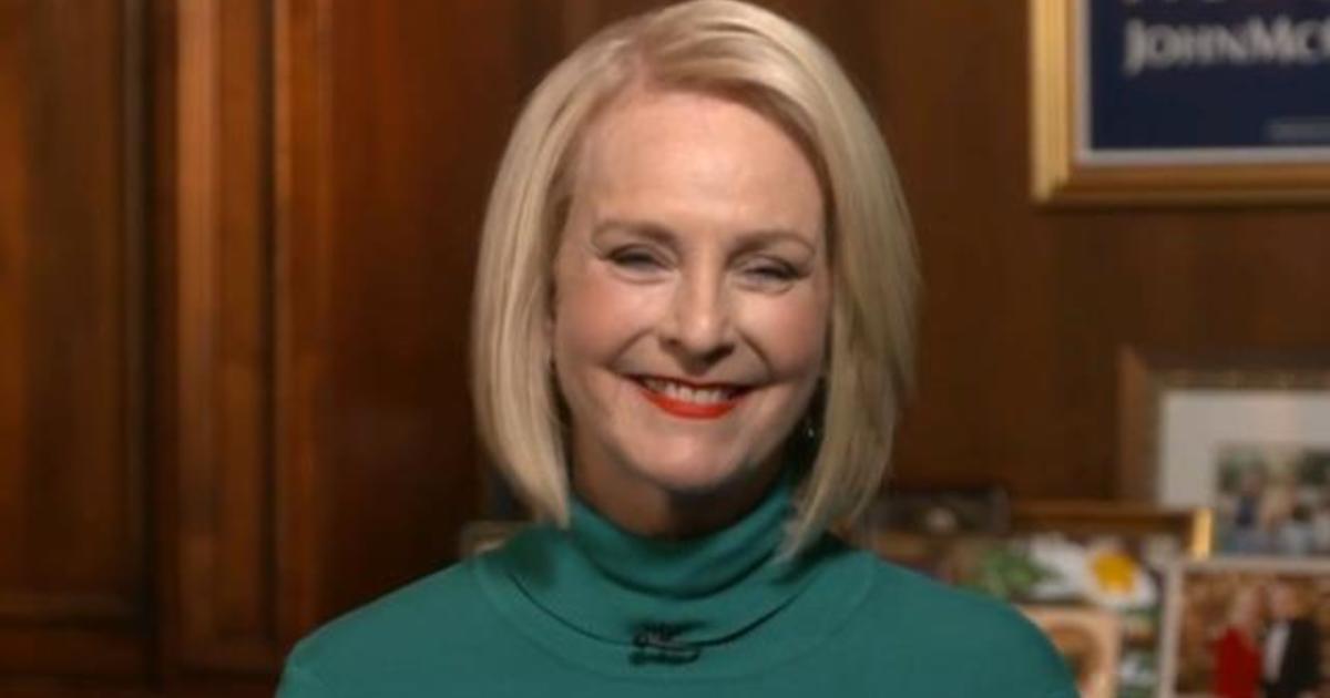 Cbsn fusion cindy mccain wife of late republican senator john mccain endorses joe biden for president thumbnail 552767 640x360