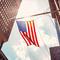 American flag in Midtown Manhattan