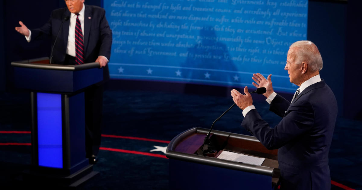 Fact-checking Trump and Biden on mail ballots, the economy, COVID and more