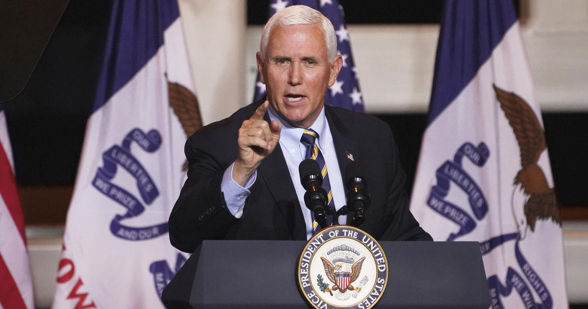 2024 primary is already in sight for Mike Pence