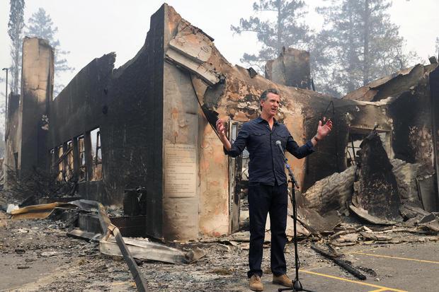 California Wildfires Newsom