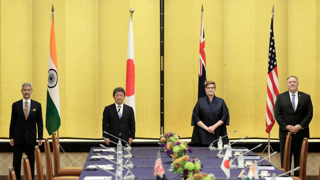 Representatives of Japan, Australia, India and U.S. meet in Tokyo