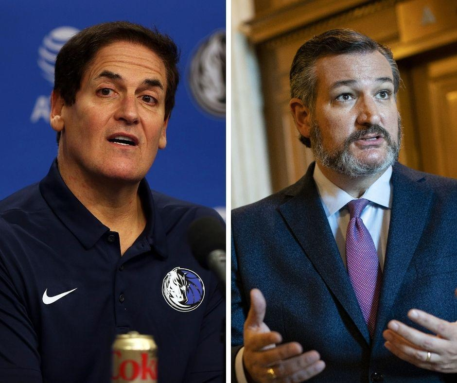 Mark Cuban fires back at Ted Cruz after senator blames low NBA Finals ratings on social justice messaging