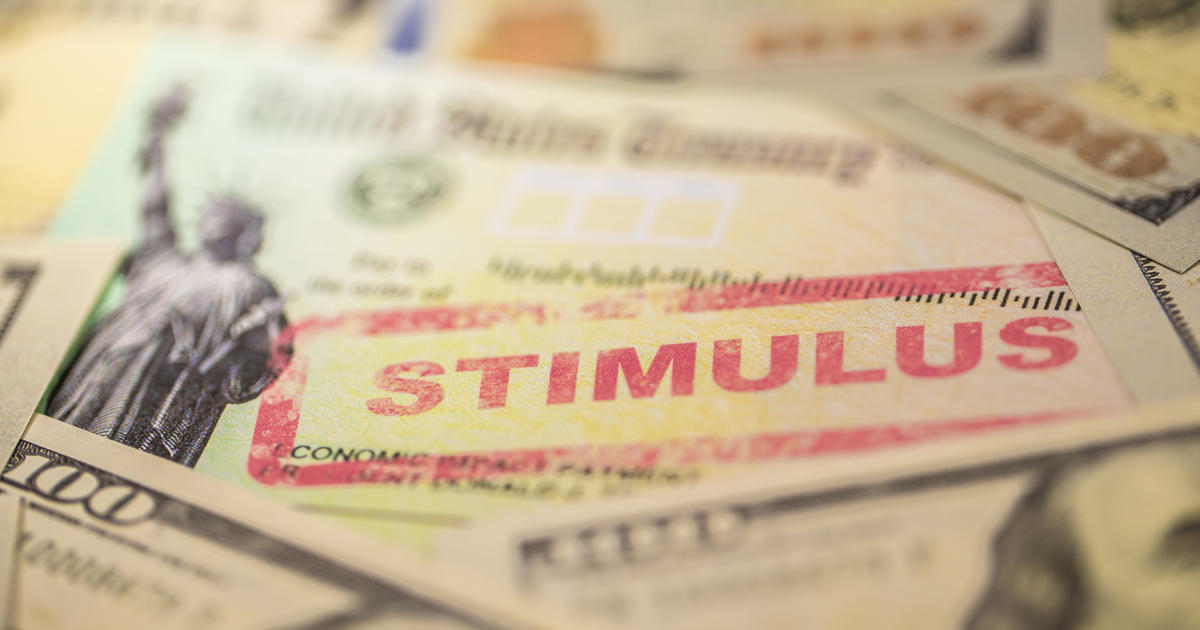 What's the status of a second $1200 stimulus check? – CBS News