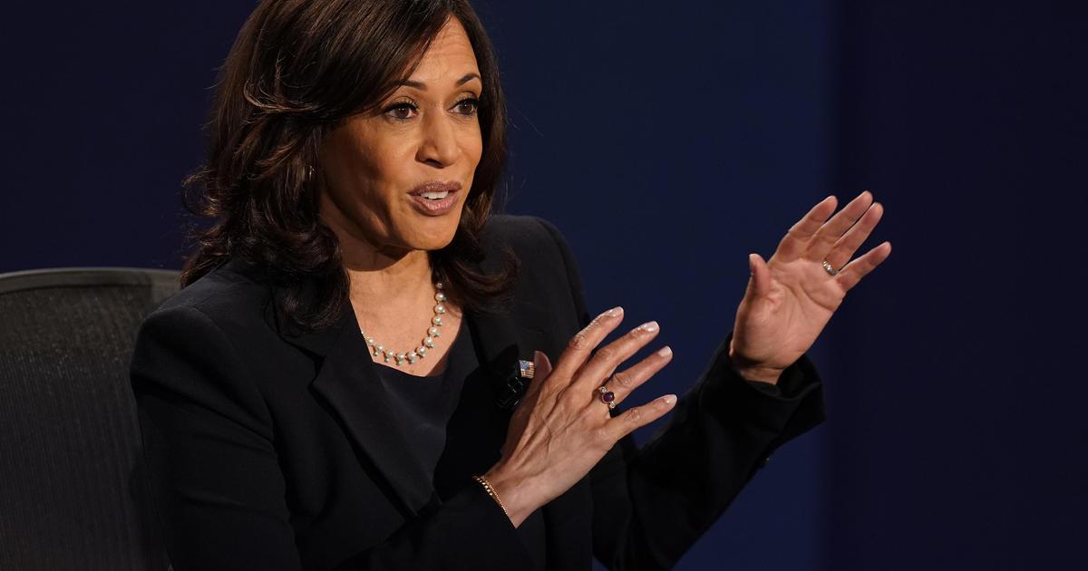 """Mr. Vice President, I'm speaking"": Kamala Harris rebukes Pence's interruptions during debate"