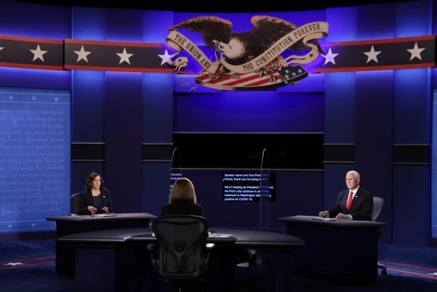 Mike Pence — Kamala Harris — VP debate 2020