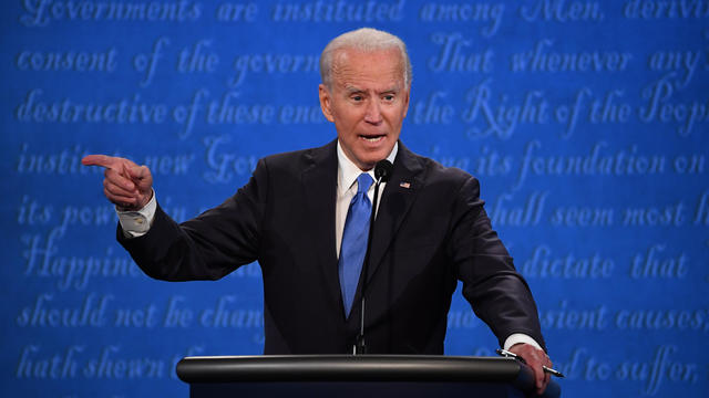 Final U.S. Presidential Debate Between President Trump And Democratic Candidate Joe Biden