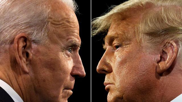 Joe Biden — Donald Trump