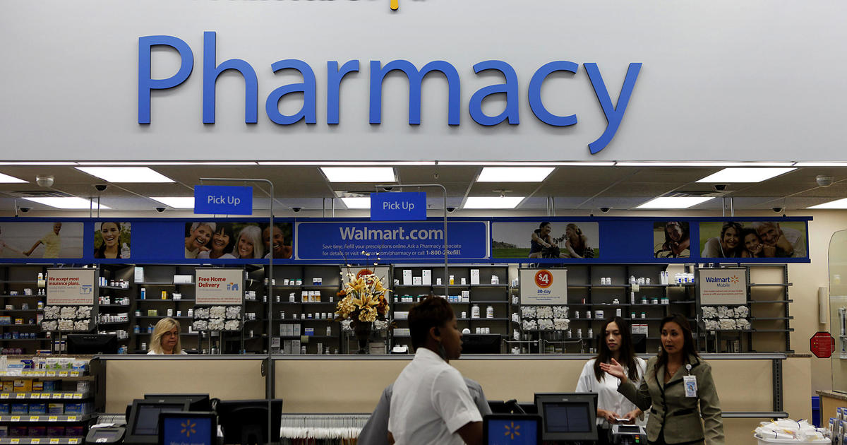 Walmart sues U.S. over its responsibility in opioid crisis