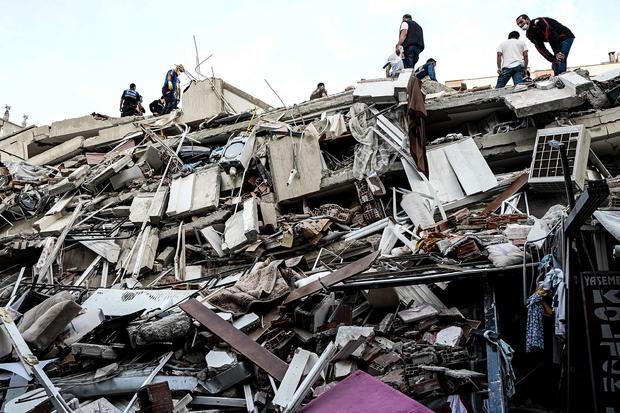 6.6 Magnitude Earthquake Strikes Off Coast Of Turkeys Izmir Province