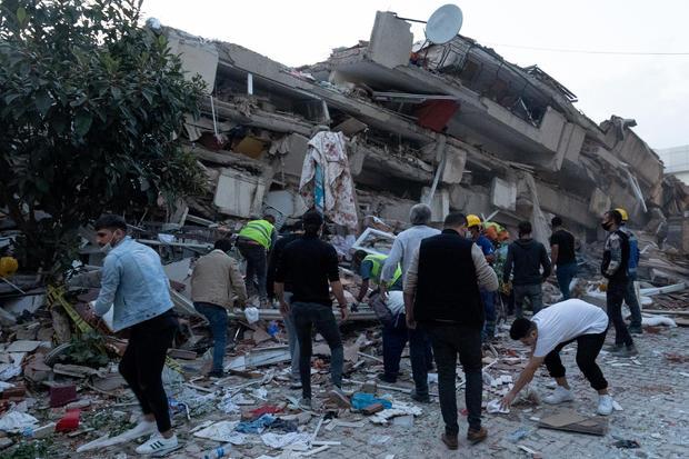 6.6 Magnitude Earthquake Strikes Off Coast Of Turkey's Izmir Province