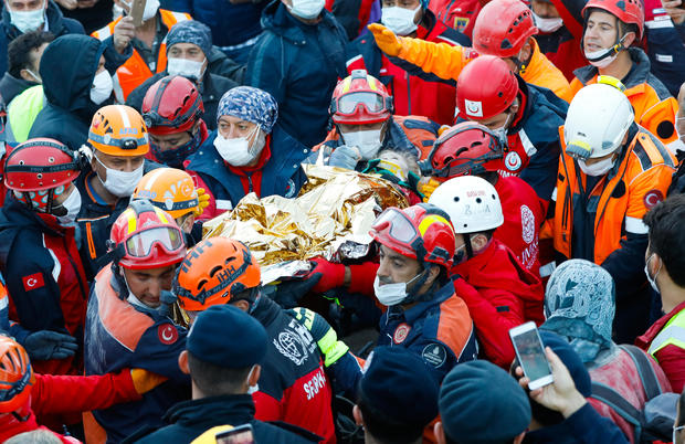 Turkey: 3-year-old girl rescued 65 hours after quake